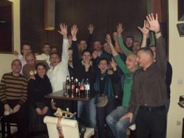 Grupna slika UKSGO, Božićni domjenak, Osijek 2011.